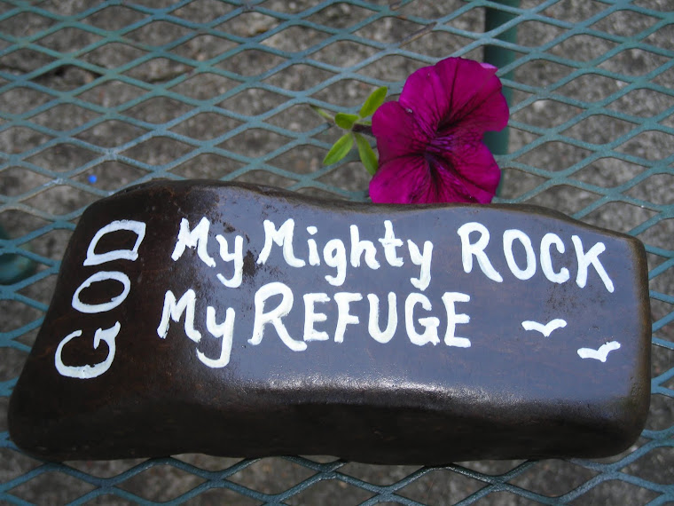 GOD - My Mighty Rock, My Refuge
