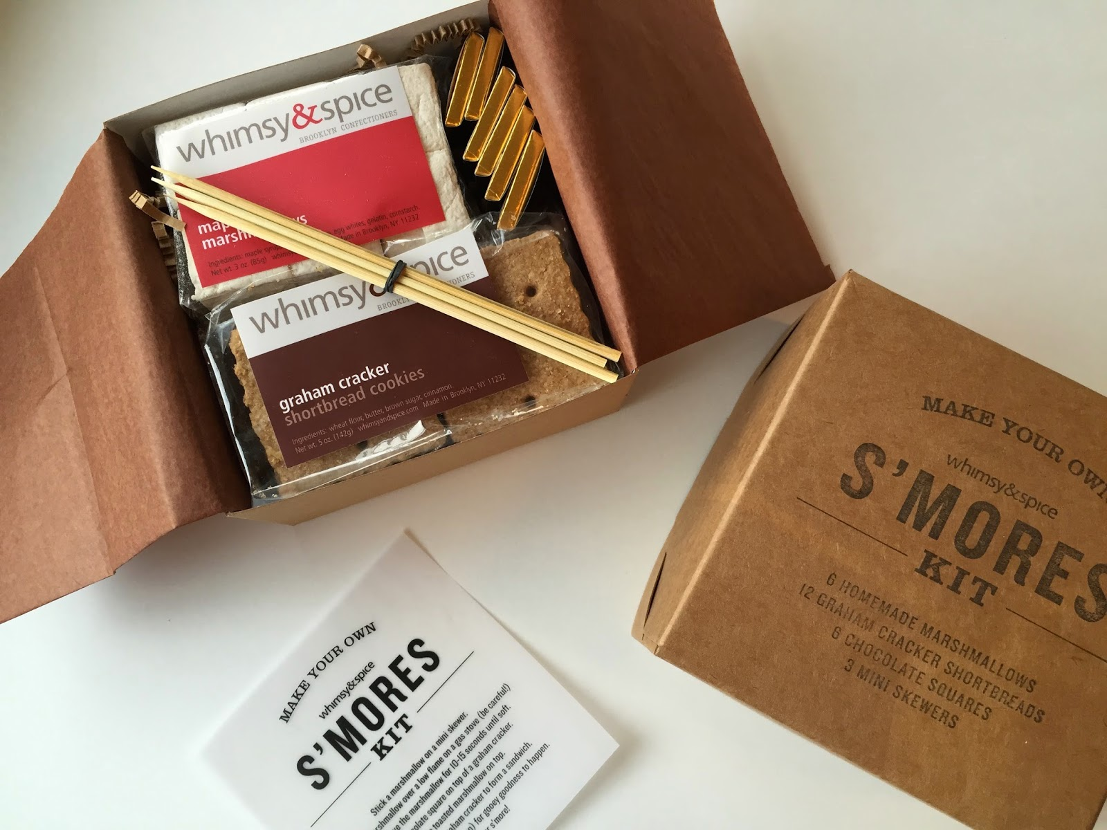 whimsy and spice smores kit from print em shop