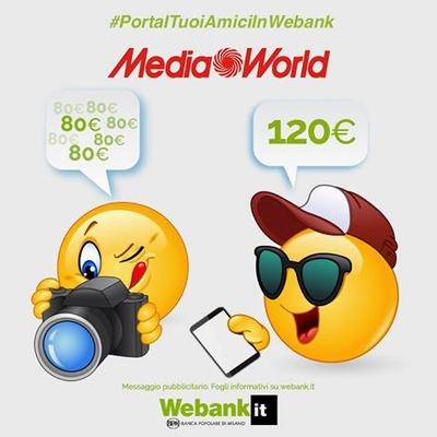 € 120 BUONI MEDIAWORLD