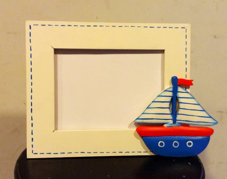 Portarretrato barco