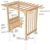 Arbor With Benches4