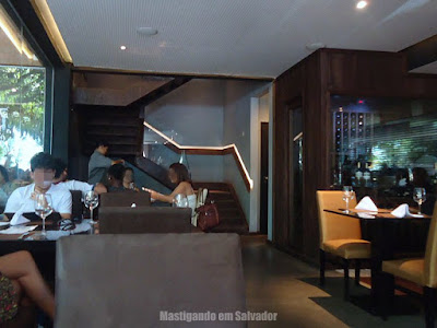 Erconalo Restaurante: Ambiente interno da unidade da Bahia Marina