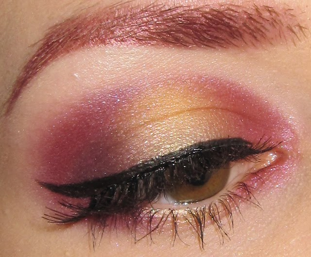 Pink and purple eye makeup tutorial  YouTube