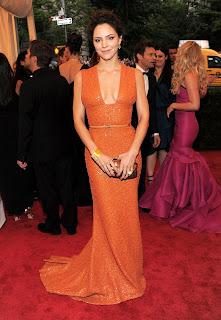 Katharine McPhee in Met Gala 2012