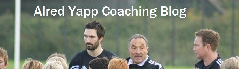 Alred Yapp Coaching Blog