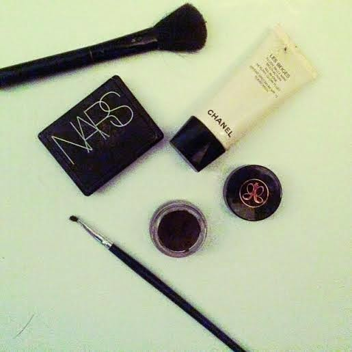 Anastasia Dipbrow pomade dark brown, Anastasia eyebrow products, best beauty products 2015, best eyebrow products, Chanel all in one, Chanel healthy glow fluid, Nars Orgasm blush, best blush beauty products, natural looking makeup products