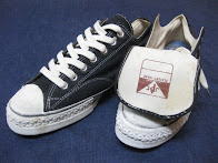 画像① 60's DEAD STOCK                  「J.C. PENNEY」              COTTON CANVAS SNEAKER (BLACK)