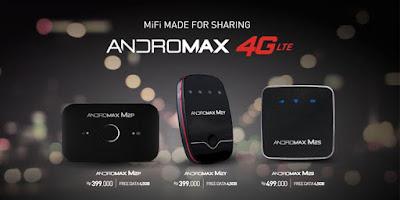 Spesifikasi Harga Smartfren MiFi Andromax M2P M2Y M2S Modem 4G LTE Wifi
