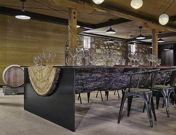 Mesa de tronco bem legaus - Mesas de troncos de madera ...
