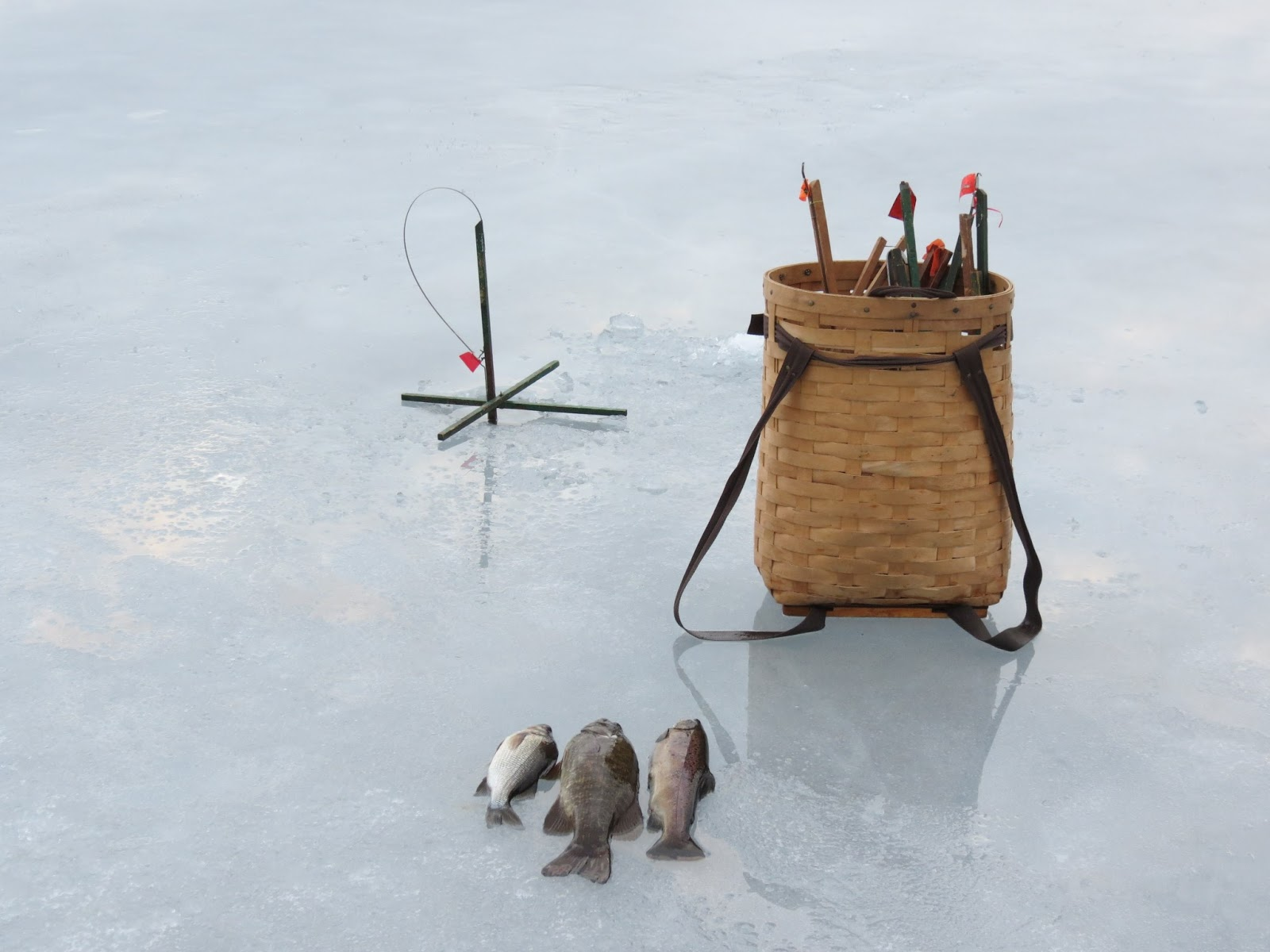 Live Simply Country Ice Fishing In Maine