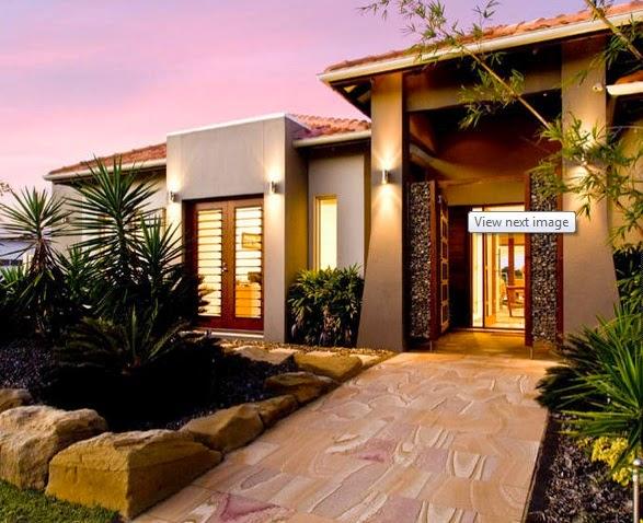 Fachadas de casas modernas de un solo piso fachadas de for Fachadas exteriores de casas modernas