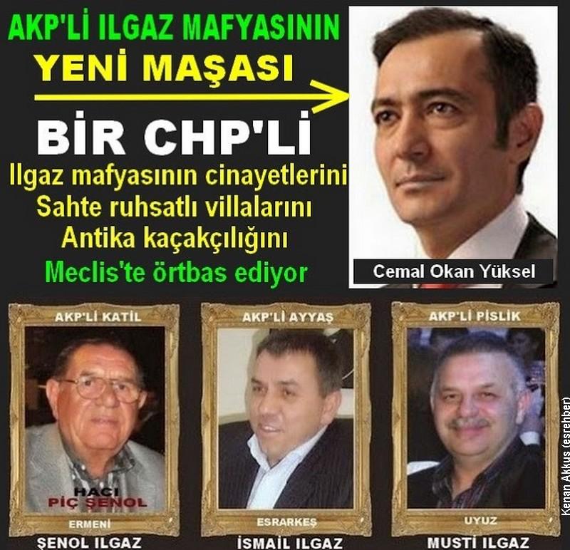 AKP'LİLERİN KİRLİ İŞLERİNİ BİR CHP'Lİ ÖRTBAS EDİYOR