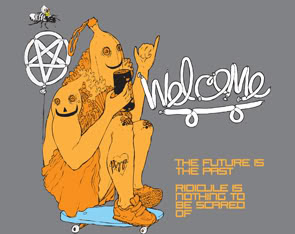 welcome skateboards ©