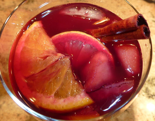 The Best Red Wine Sangria!