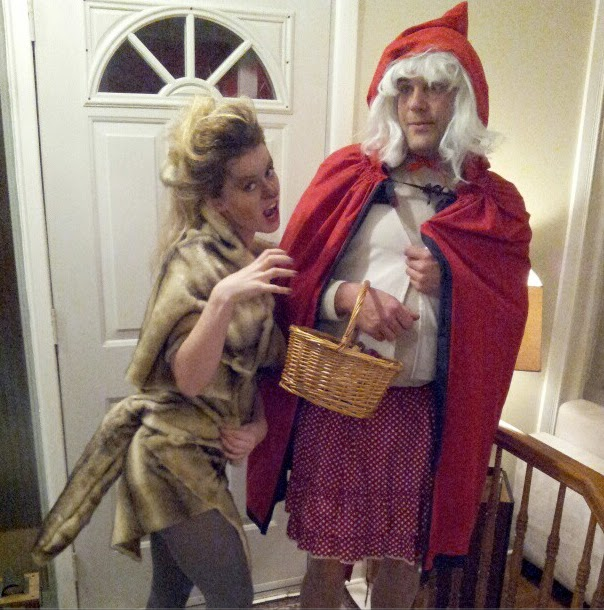 Amy and Matt went as Red Riding Hood and the Big Bad Wolf. Matt was a very good riding hood and carried around a basket of goodies (adult goodies ...  sc 1 st  Agathos & Agathos: Halloweu0027ensies!