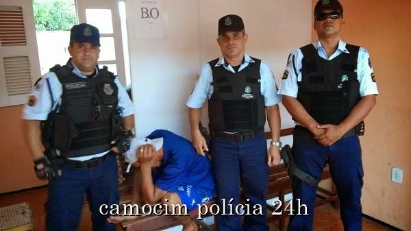 """POLÍCIA: Policiais de Senador Sá prendem """"Valentão""""!"""