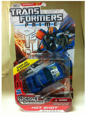 Transformers Prime Hot Shot in package