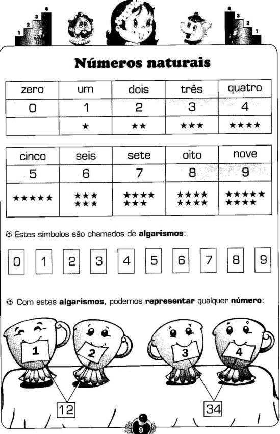 Atividades 1   Ano Ensino Fundamental Matem  Tica 1 4