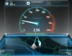 misurare internet