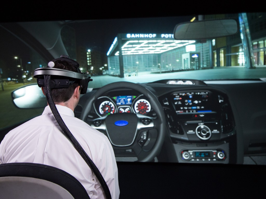 Ford's Virtual Reality Lab Improves Global Vehicle Quality