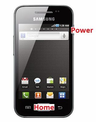 Capture d'écran sur Galaxy Ace