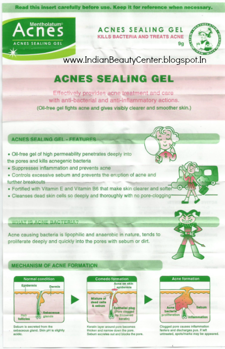 Acnes Sealing Gel Review