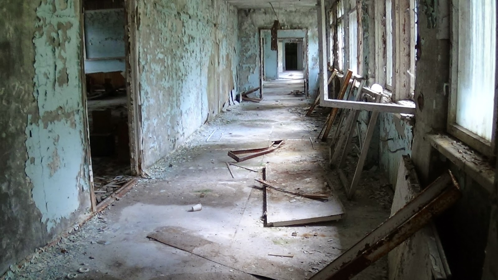 abandoned building pripyat
