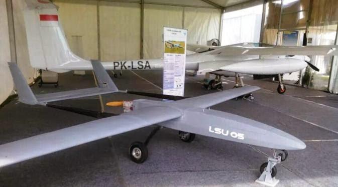 Lapan Uji Coba Empat Pesawat Terbang Tanpa Awak