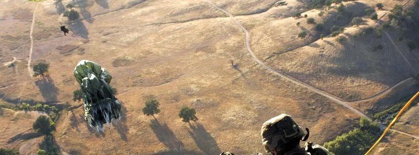 Une photot de couverture facebook soldat