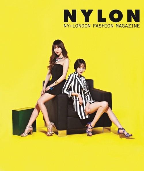 Davichi Majalah Nylon 02