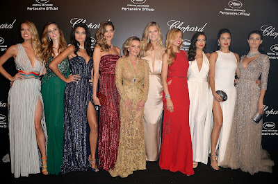 Models at Cannes