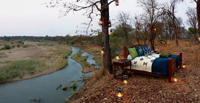 Destination  Africa , singita luxury african Miracle Game reserve