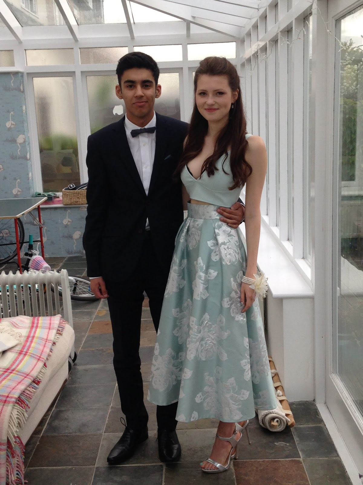 The alternative prom outfit….