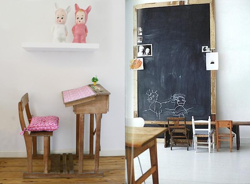 Decora tu habitaci n con mobiliario escolar vintage for Muebles colegio