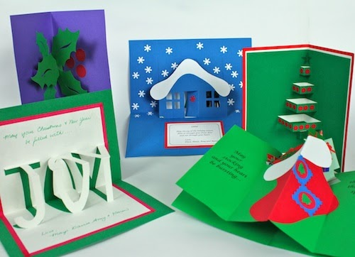 Ashbee Design Pop Up Christmas Cards