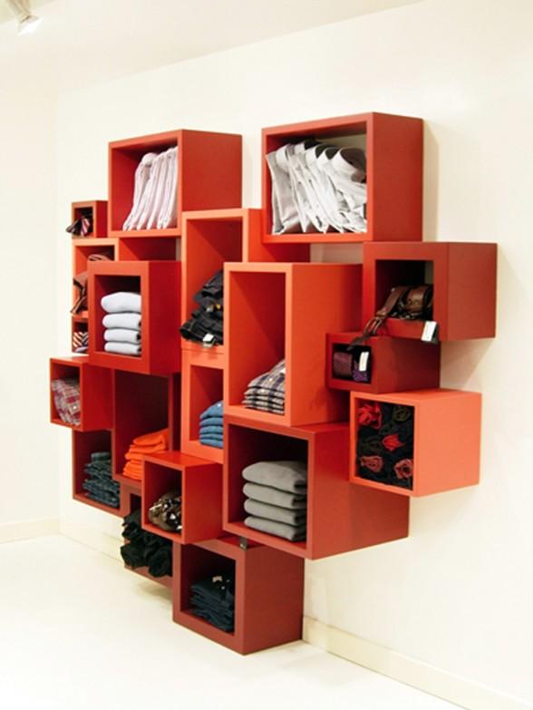 Unique Parametric Bookshelves Furniture