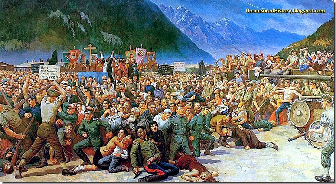 Cossacks handover lienz painting korolkoff