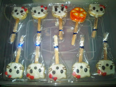 Kitty and Orange Cookies Stick