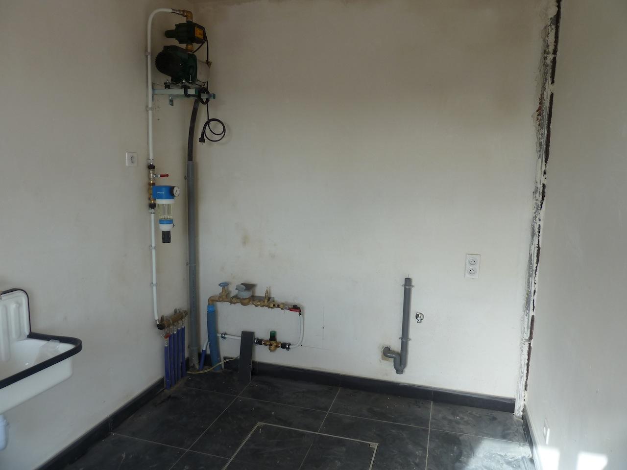 La construction de notre maison: sanitaires