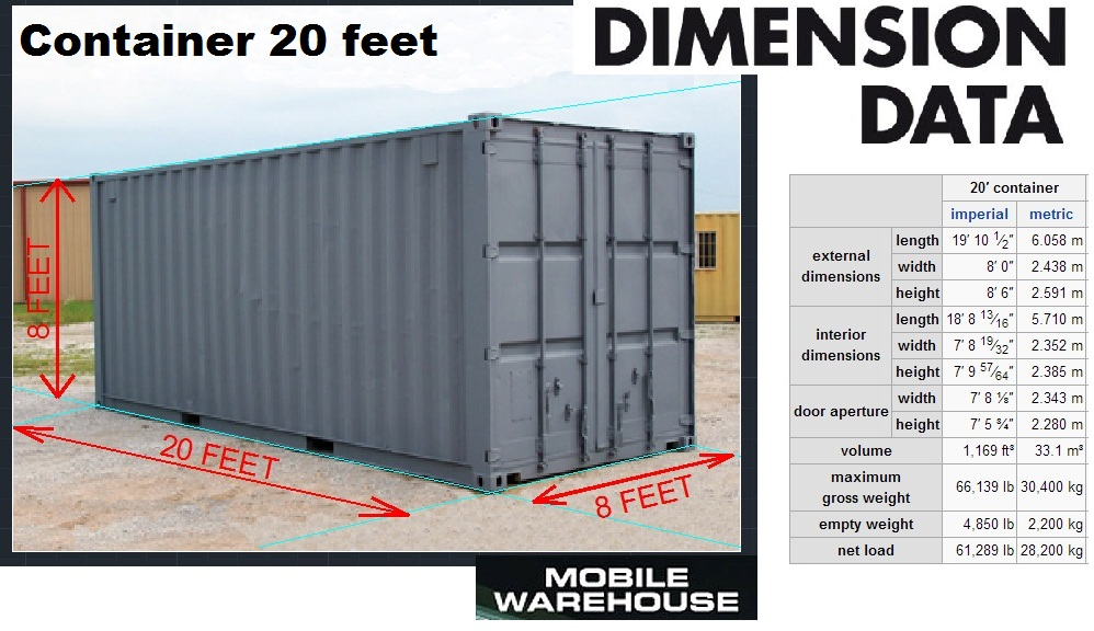 20 feet container kg shipping container international freight quote. Black Bedroom Furniture Sets. Home Design Ideas