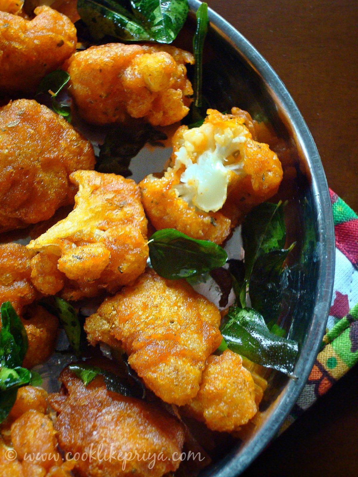 Cauliflower Restaurant style fry