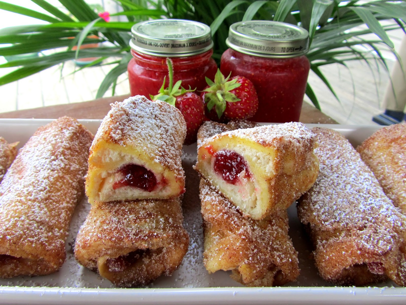 French Toast Roll-Ups Recipe — Dishmaps