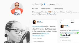 Di'ja's Instagram page