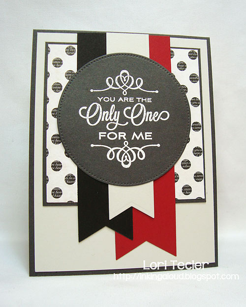 You Are the Only One for Me-designed by Lori Tecler-Inking Aloud-stamps and dies from My Favorite Things