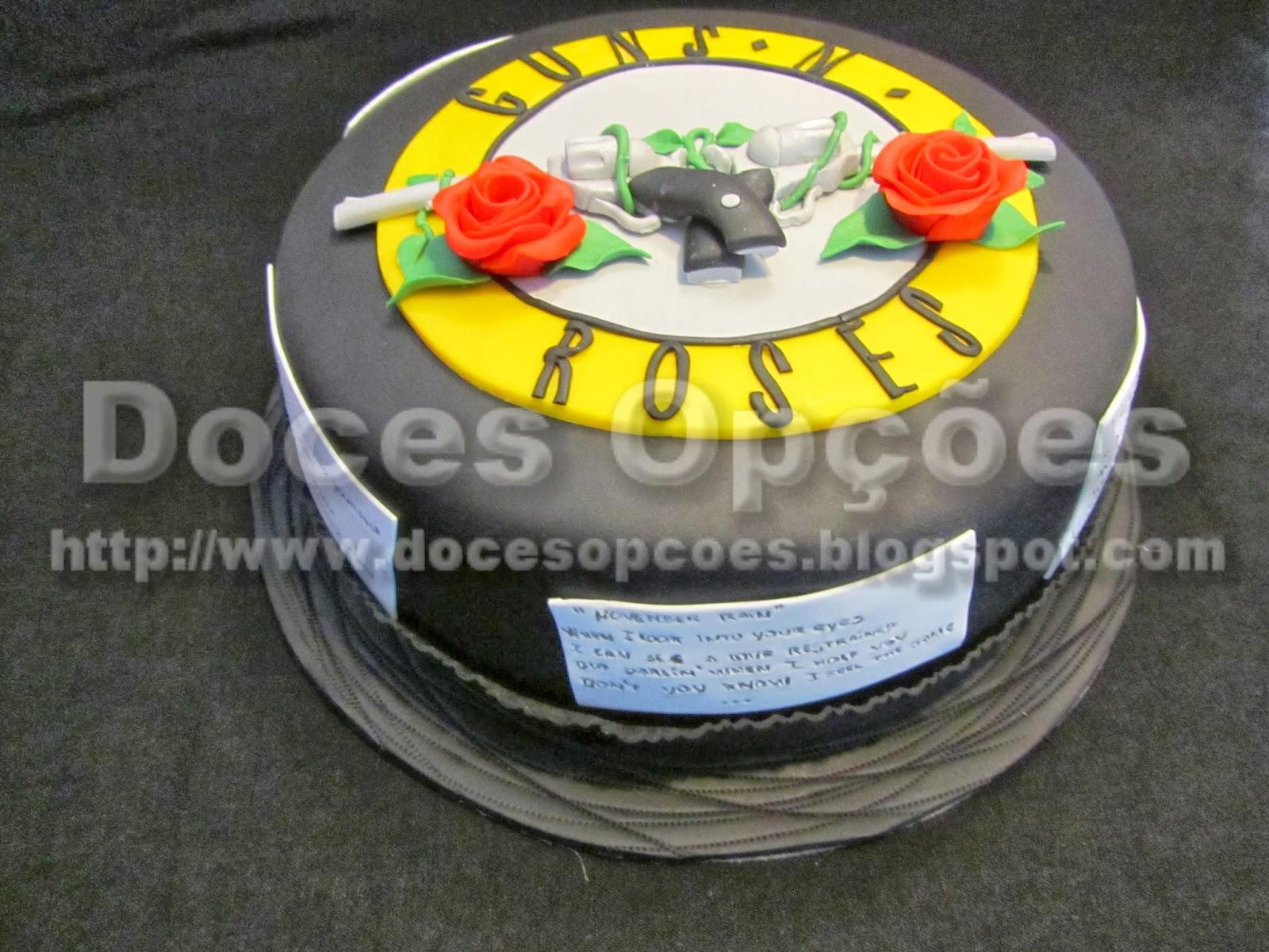 Guns N' Roses cake