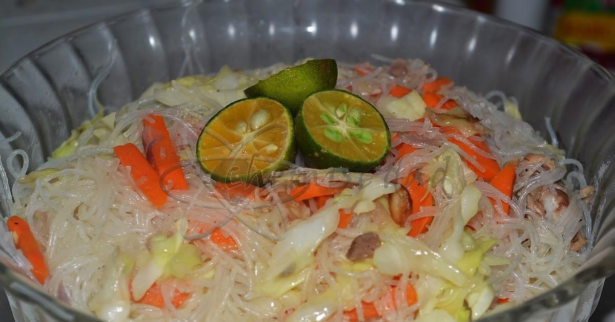 how to cook bihon noodles