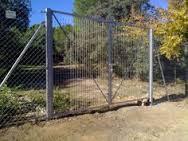 puerta metálica 3m por 1,50 alto