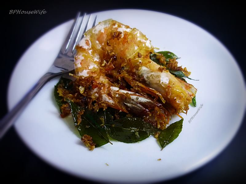 how to cook butter prawn