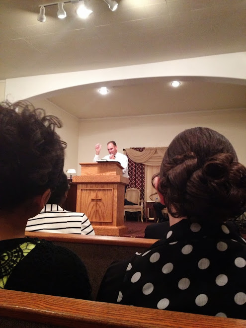 Trav preaching @ Bro. Sissels