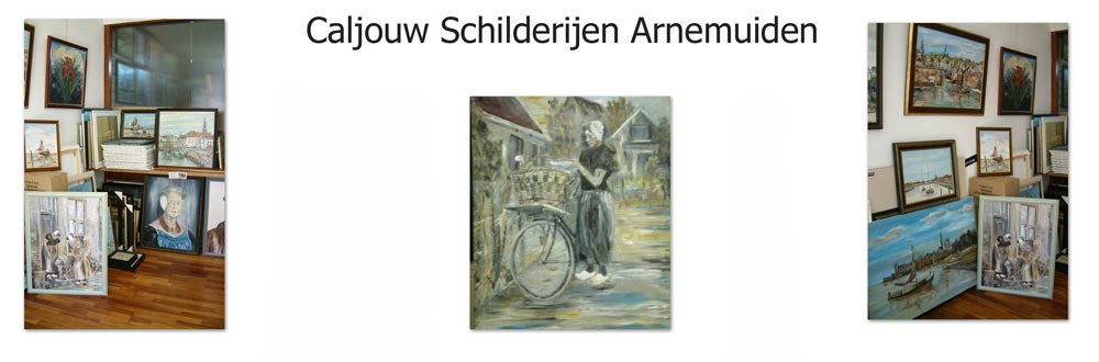 Schilderijen Caljouw Arnemuiden